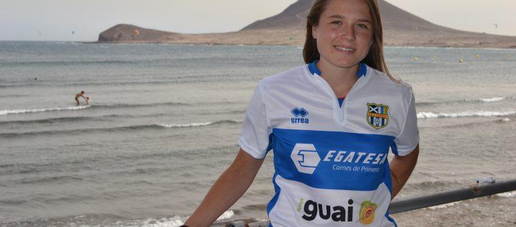 Aleksandra Zaremba, nuevo fichaje de la UDG Tenerife Egatesa